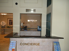 Concierge Granite Counter remodel