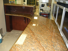 hotel security counter remodel, miami beach, fl