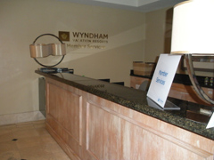 hotel reception countertop remodel miami