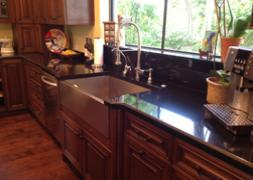 Black Absolute Granite Kitchen Top